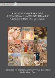 Program semináře - Metodické centrum pro muzea výtvarného umění