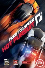 EA Games Need for Speed Hot Pursuit - need-for-speed-hot-pursuit-manuals