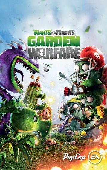 EA Games Plants vs. Zombies Garden Warfare - plants-vs-zombies-garden-warfare-manuals