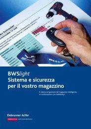 BWSlight Sistema e sicurezza per il vostro magazzino