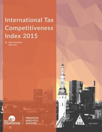 International Tax Competitiveness Index 2015