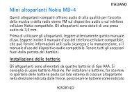 Nokia Mini Speakers MD-4 - Manuale duso del {0}