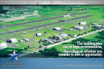 Postcards - North Texas Regional Airport