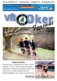 VfL Oker Vereinszeitschrift