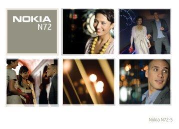 Nokia N72 - Manuale duso del {0}