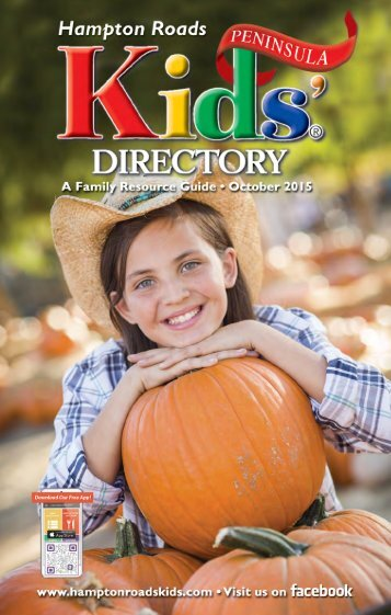 Hampton Roads Kids' Directory Peninsula Edition: October 2015