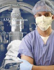 2010 ASC Valuation Survey