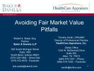Avoiding Fair Market Value Pitfalls