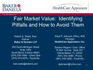 Fair Market Value Identifying Pitfalls and How to Avoid Them