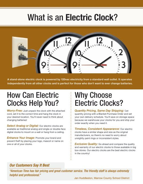 What is an Electric Clock?