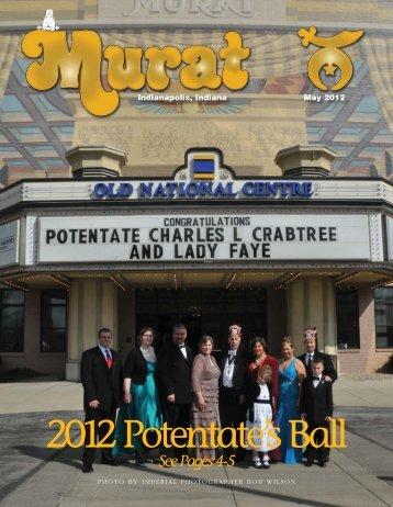 2012 Potentate's Ball