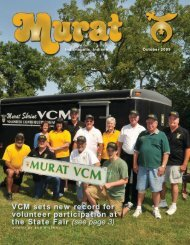 VCM sets new record for volunteer participation at the State Fair (see page 3)