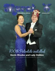 100th Potentate installed