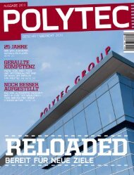 fÜr das geschäftsJahr 2011 - polytec