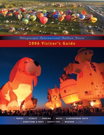 2006 Visitor's Guide
