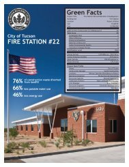 Green Facts FIRE STATION #22