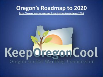 Oregon's Roadmap to 2020