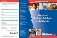 Help End Political Gridlock in California