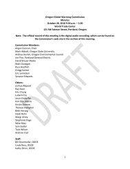 OGWC Draft Minutes 10 28 2011.pdf - Keep Oregon Cool.