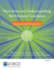 New Data for Understanding the Human Condition International Perspectives