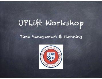 UPLift Workshop