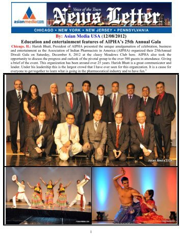 Education and entertainment features of AIPHA's ... - Asian Media USA