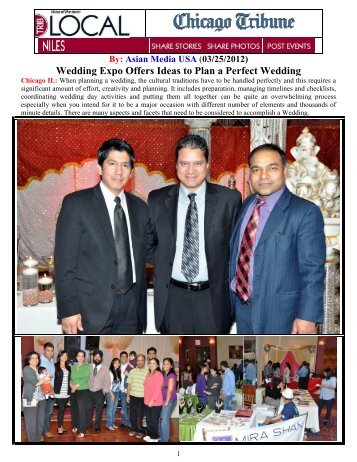 Wedding Expo Offers Ideas to Plan a Perfect Wedding