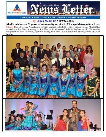 MAFS celebrates 20 years of community service ... - Asian Media USA