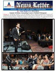 Amanat Ali Khan Astounding Concert Thrilled ... - Asian Media USA