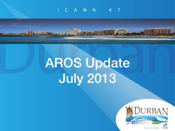 AROS Update! July 2013