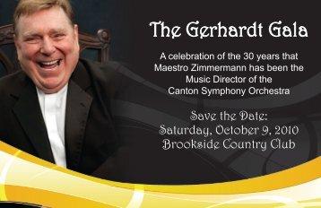The Gerhardt Gala