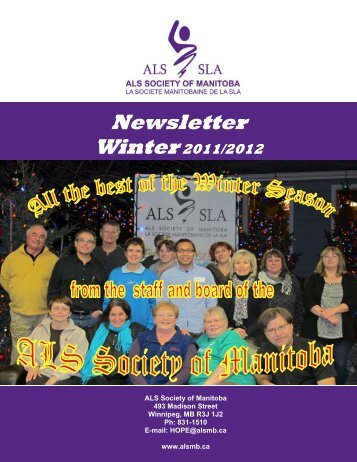 Newsletter Winter Winter