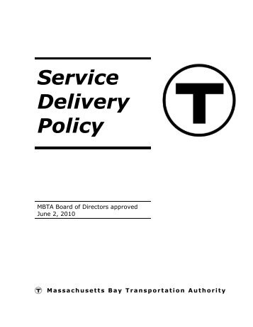 Service Delivery Policy