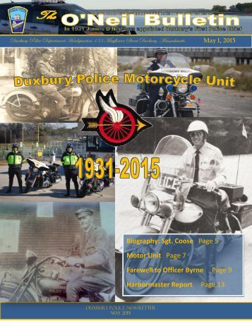 DPD Newsletter May 2015