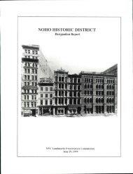 NOHO HISTORIC DISTRICT