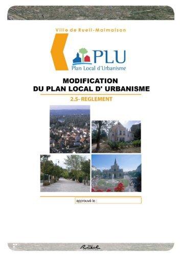 ZONE USP 8 - Mairie de Rueil-Malmaison