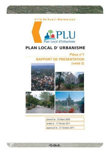 PLAN LOCAL D' URBANISME