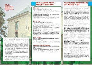 Brochure d'information 2013 -2014 - Mairie de Rueil-Malmaison