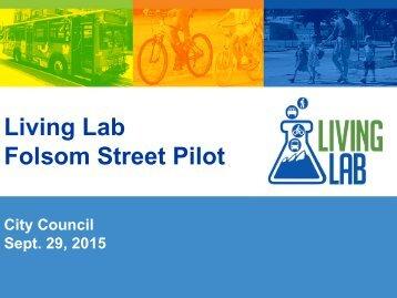 Living Lab Folsom Street Pilot