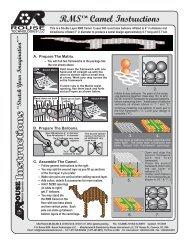 Camel 6.7' Instructions - Rouse International