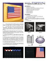 Directions for RMS US 10' Flag