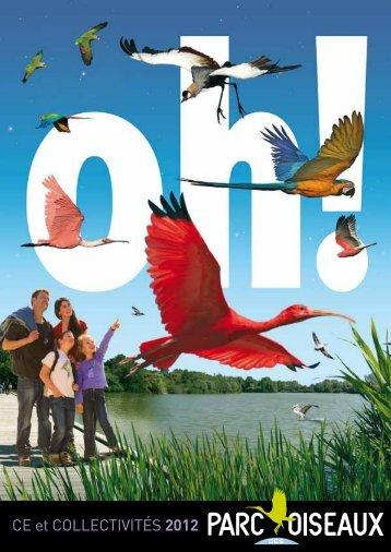 CE et COLLECTIVITÉS 2012 - parc des oiseaux villars les dombes