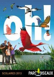 SCOLAIRES 2013 - Parc des Oiseaux