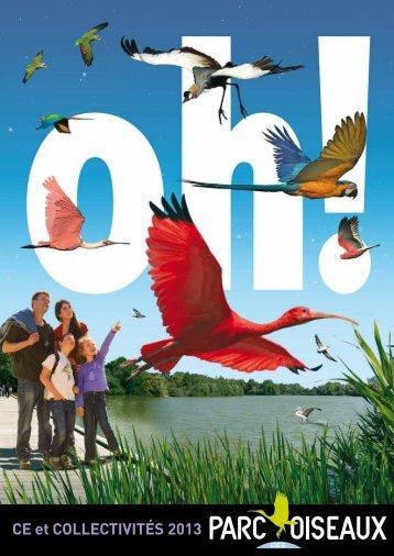 Téléchargez la plaquette - parc des oiseaux villars les dombes