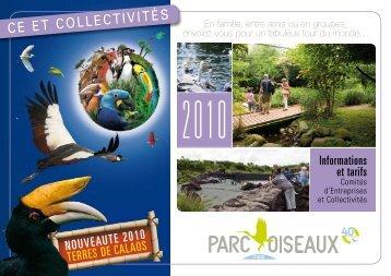 CE Et CollECtivités - Parc des Oiseaux