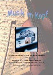 Musik im Kopf - Freiherr-vom-Stein-Schule