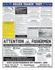 ATTENTION FISHERMEN