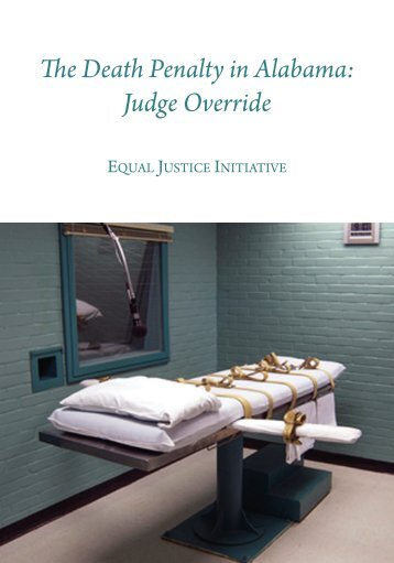 The Death Penalty in Alabama Judge Override