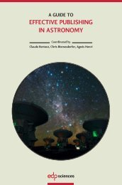 EFFECTIVE PUBLISHING IN ASTRONOMY