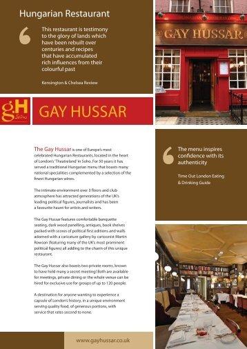 GAY HUSSAR